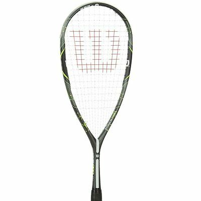Wilson Force Pro BLX Squash Racket Lightweight Play Game Sports Accessories