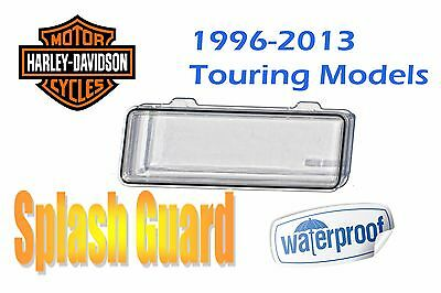 Waterproof Splash Radio Cover CD Receiver Adapter Kit Clear Fits Harley Davidson