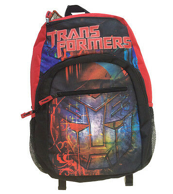 """New TRANSFORMERS """"Optimus Prime"""" Large 20"""" Graphic Book Bag Backpack $59.99"""