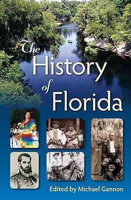 The History of Florida by Hardcover Book (English)