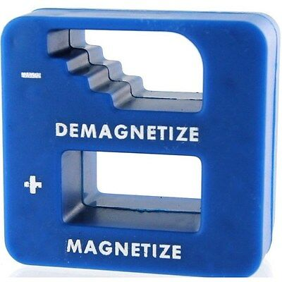 Magnetizer Demagnetizer Magnetic Tool For Screwdriver Tips Screw Bits Pick Up