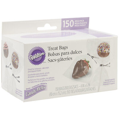 Treat Bags 4X6 150/Pkg-Clear, Set Of 3
