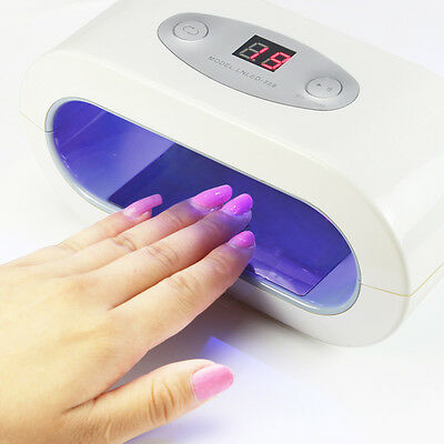 Protective Environmental 9W Nail Gel Polish UV/LED Dryer Curing Manicure Tool