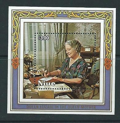 Niue Sgms590 1985 Queen Mother  Mnh