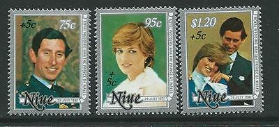Niue Sg444/6 1981 Year For Disabled Mnh