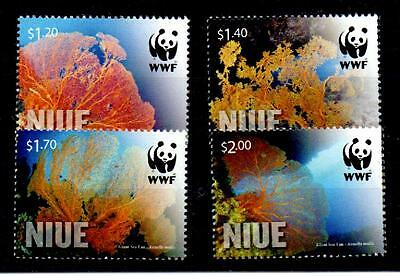 Niue 2012 Giant Sea Fan Set Mnh