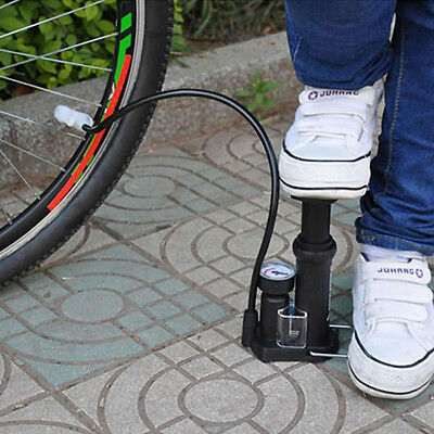 Mini High-pressure Bicycle Pumps Pedal MTB Cycling Straddling Inflator Portable