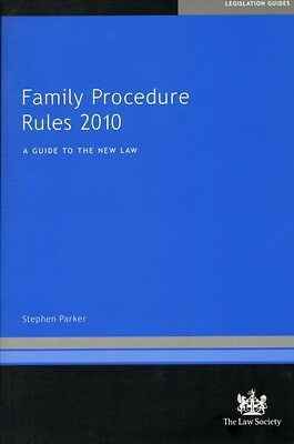 Family Procedure Rules 2010: A Guide to the New Law (Paperback), . 9781907698149