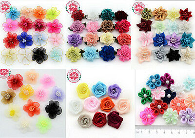 50 PCS Handmade Designer Pet Dog Accessories Grooming Hair Bows For Dogs New