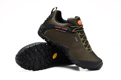 New Men's Waterproof Breathable Trail Hiking Climbing Shoes Outdoor Sports Boots