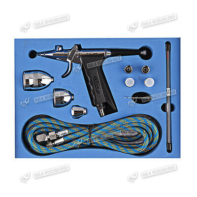 Single-action Airbrush Trigger 0.2mm/0.3mm/0.5mm Needle Air Brush Spray Gun Kit