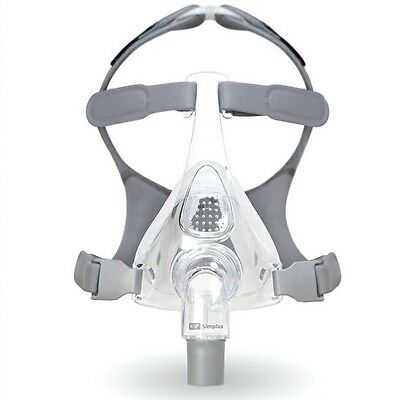 CPAP Mask Fisher & Paykel SIMPLUS Full Face w' Headgear Choose Medium or Large