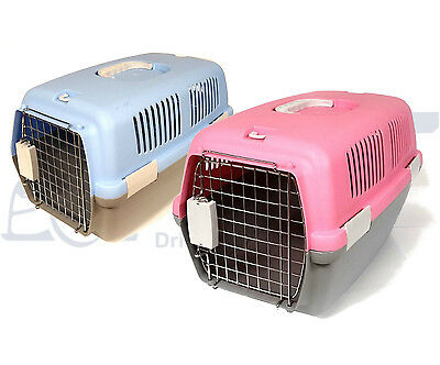 Pet Carrier Box / Cage for Dog, Cat, Small Animal - Washable, Ventilated, Secure