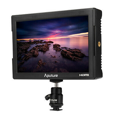 Aputure VS-5 7'' Pro Multifunctional HD-SDI & HDMI 1920*1200 Field Monitor UK!