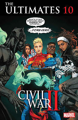 ULTIMATES #10 (Marvel 2016 1st Print) Civil War II COMIC