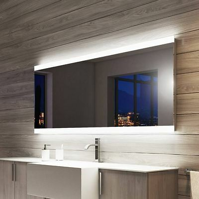 Light Mirrors Halo Enlighten Range Bathroom Mirror with Shaver Socket & Demister