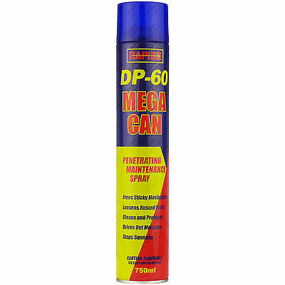 4 x 750ml DP-60 Penetrating Releasing Cleaning Maintenance Spray DP60 Lubricant