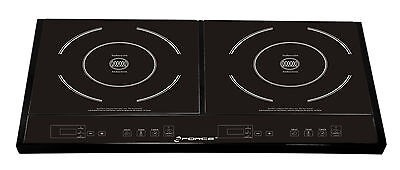 GForce Double Induction Stove Temperature Control and Timer
