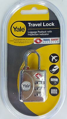 YALE travel Padlock Set coach, train,airplane,airport car.van,suitcase holiday,