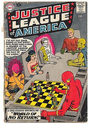 Justice League of America #1 GD (Cover Detached)
