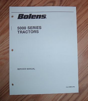 Bolens 5000 Series Tractor Service Manual