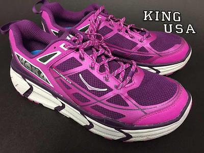 Women's Hoka One One Challenger ATR Running Athletic Shoes Fuchsia Plum Size 7.5