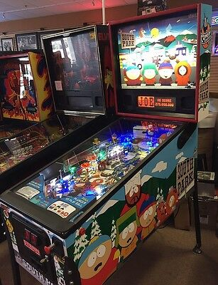 South Park Pinball Machine Pre-Owned