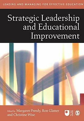 Strategic Leadership and Educational Improvement ... by Christine Wise Paperback