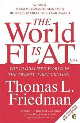 The World is Flat: The Globalized World in t... by Friedman, Thomas L. Paperback