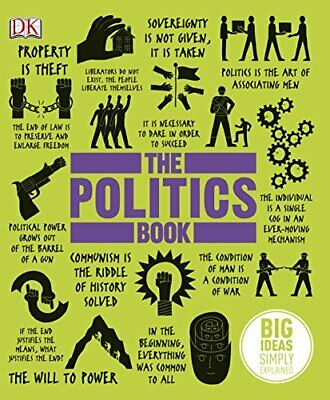The Politics Book by DK Book The Cheap Fast Free Post
