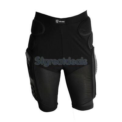 Motorcycle Bike Padded Hip Protector Body Armour Cycle Shorts Black S/M/L/XL/XXL