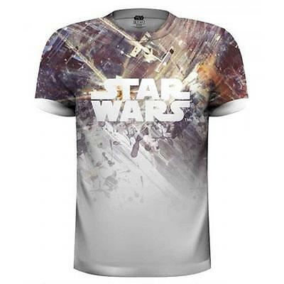 Star Wars - Dogfight Sublimation T-Shirt - New & Official Disney / Lucasfilm Ltd