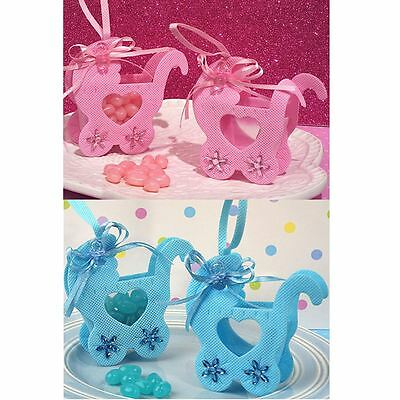 6 à 60 Adorable Baby Carriage Baby Style Douches & Party Favours cadeaux Sacs