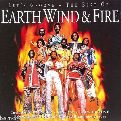 Earth Wind & Fire (New Sealed Cd) Let's Groove The Very Best Of Greatest Hits