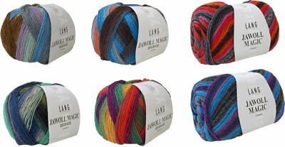 Lang Yarns Jawoll Magic und Jawoll Magic Degrade 100 g - neue Farben