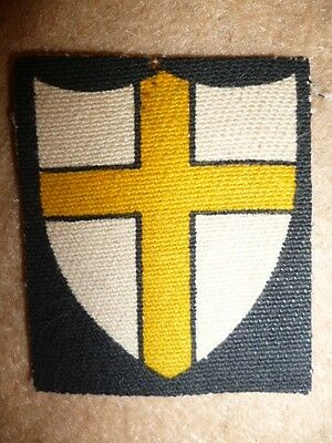 British Troops in Austria Cloth Shoulder Formation Patch / Badge, end of WW2