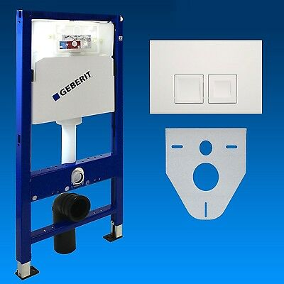 Geberit Duofix WC - Concealed cistern + Bet Panel Set