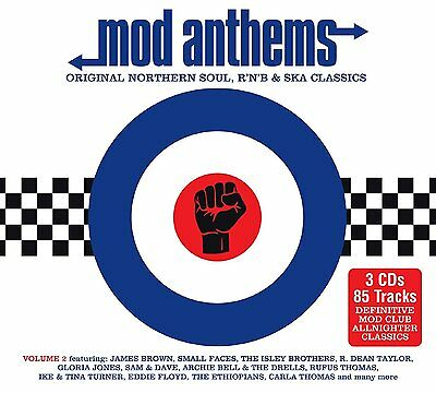 MOD ANTHEMS VOLUME 2 3CD ALBUM SET - Various Artists (May 27th 2016)