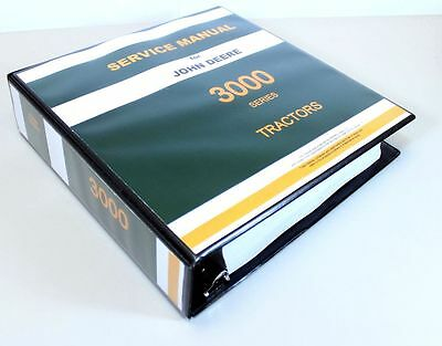 John Deere 3020 3010 3000 Tractor Service Technical Manual Repair Shop In Binder