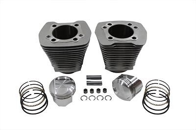 Evolution Cylinder and Piston Kit Silver, KIT,for Harley Davidson motorcycles,by