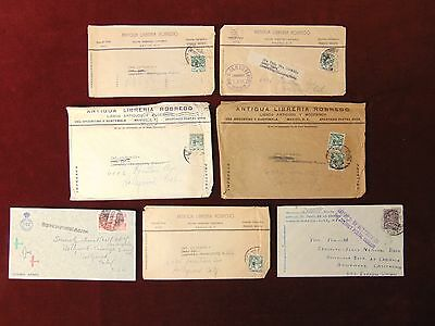 7 MEXICO WWII Era Covers 1939-1944 Three Censored