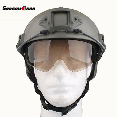 Emerson Fast Helmet Protective Goggle Accessories Replacement Glasses for EM8818