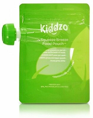 Reusable / Disposable Baby Food Pouch (50 Pack) Puree Toddler Snack Small wSpoon