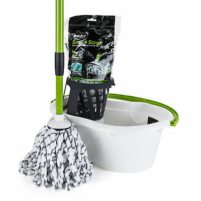 Minky Microfibre Mop and Bucket and Refill