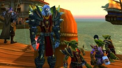 WOW Loot Code Landro Longshot-Wappenrock der Flamme (Tabard of Flame) Red Tabard
