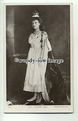 r0737 - Young Princess Mary in Royal Gown - postcard