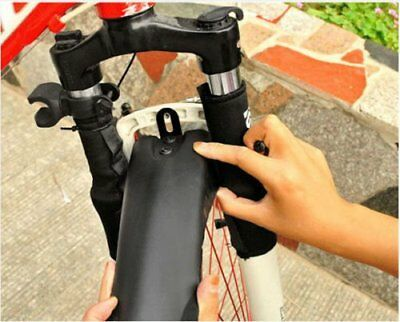 Road Bike Bicycle Cycling Front Mudguard + Rear Fender Mud Guard Set Black