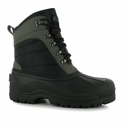 Diem Mens Lite Tech Boots Waterproof Shoes Fishing High Impact Traction Sole