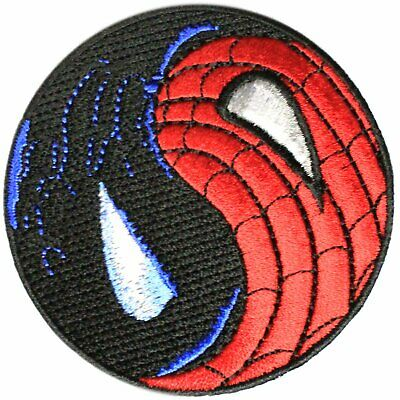 Official Marvel Comics Amazing Spiderman Venom Ying Yang Iron on Applique Patch