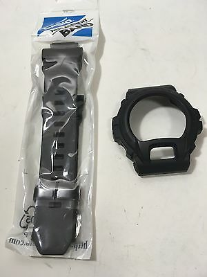 GENUINE CASIO G-shock Eminem GD-X6900MNM-1 black BAND & BEZEL FIT GD-X6900